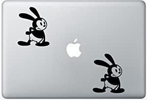 Oswald The Lucky Rabbit ArcDecals78602435 Set Of Two (2x) , Decal , Sticker , Laptop , Ipad , Car , Truck