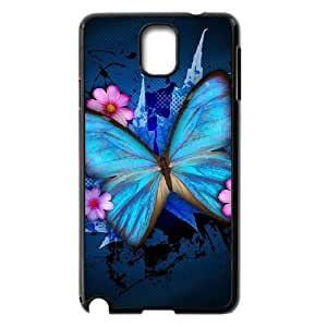 Case Of Butterfly customized Bumper Plastic case For samsung galaxy note 3 N9000