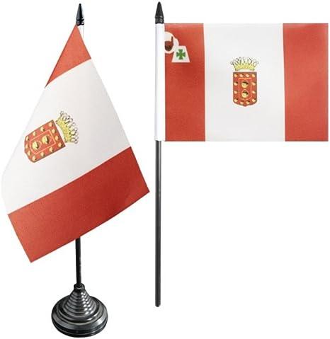 Flaggenfritze Bandera de Mesa/Mesa Bandera España La Gomera + ...