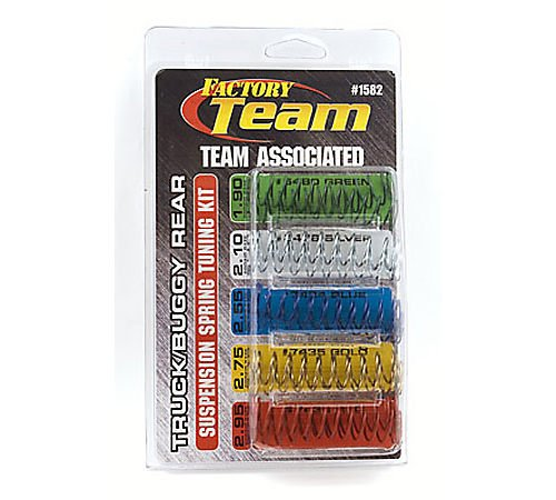 Team Associated 1582 Truck/Buggy Rear Suspension Spring Tuni