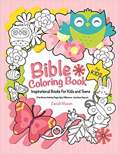 Amazon.com: Bible Coloring Book For Kids: Inspirational Books For ...