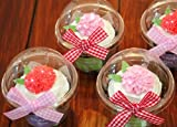 20 Clear Cupcake Containers [ Momoka's Apron ]