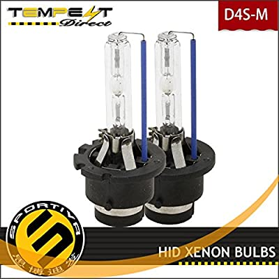 2006 - 2015 Lexus IS250 HID Xenon D4S Low Beam Headlight OEM Factory Replacement Bulbs (Pack of 2)