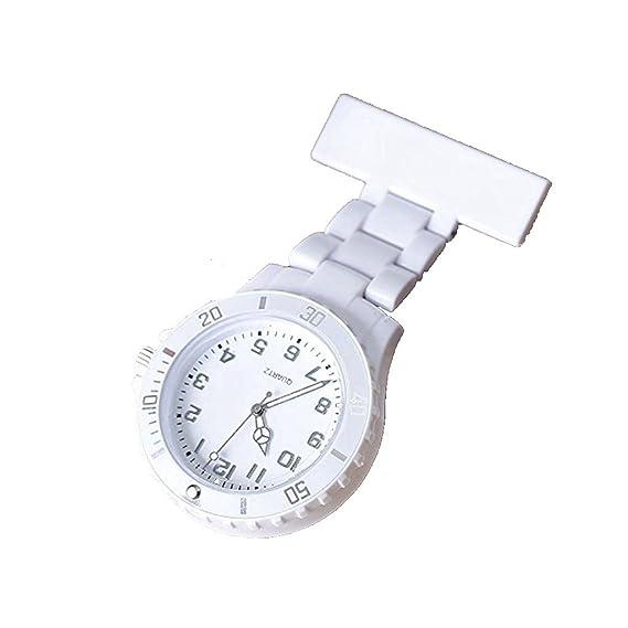 LinTimes Mujer de niñas de Broche Colgante Reloj de Bolsillo de Solapa de Bolsillo de Enfermera Reloj de Silicona Jelly para Samsung Galaxy S3 Mini i8190, ...