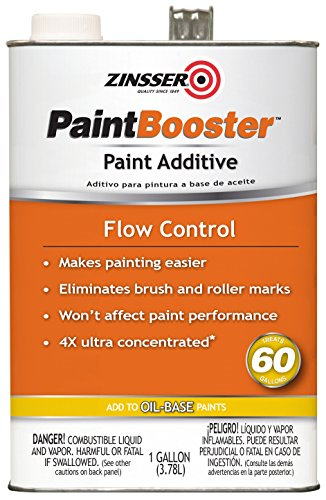 Zinsser PaintBooster 303845 Flow Control Paint Additive, Oil Based, Gallon