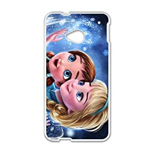 Frozen Princess Elsa and Anna Cell Phone Case for HTC One M7