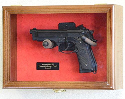 wall mount rifle display case - 4