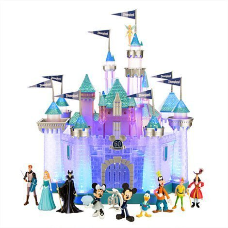 Sleeping Beauty Castle (Sleeping Beauty Castle Play Set Disneyland Diamond Celebration - Limited Availability)