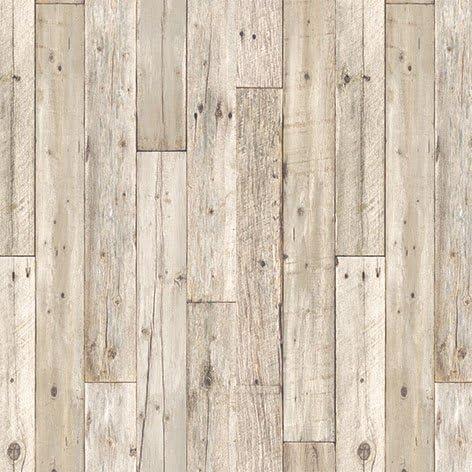 アクセントクロスセット ホワイト・グレーウッド柄セレクション/RE-2628 (生のり付壁紙15m+施工道具7点セット)