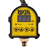 Vivona Hardware & Accessories Automatic Digital Pressure Controller ON Off Switch 220V for Water Ail Gas Pump