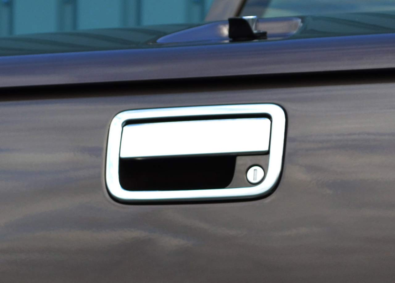 Chrome Coque de poigné e de porte arriè re Tailgate Trim to Fit Amarok (2010  +) ALVM Parts & Accessories