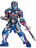 Disguise Optimus Prime Movie Prestige Costume, Blue, Medium (7-8)