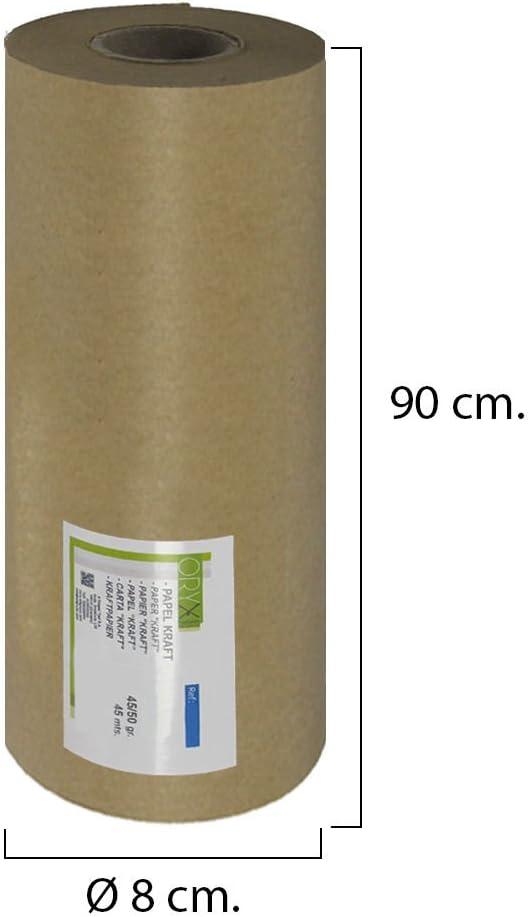 ORYX 14051715/Papier Kraft 45//50/grammes Rouleau 90/cm x 45/m/ètres.