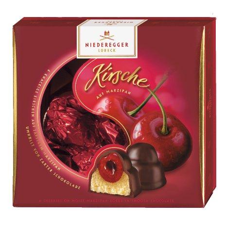 Niederegger Marzipan Cherry Praline - 108g/3.84 Oz