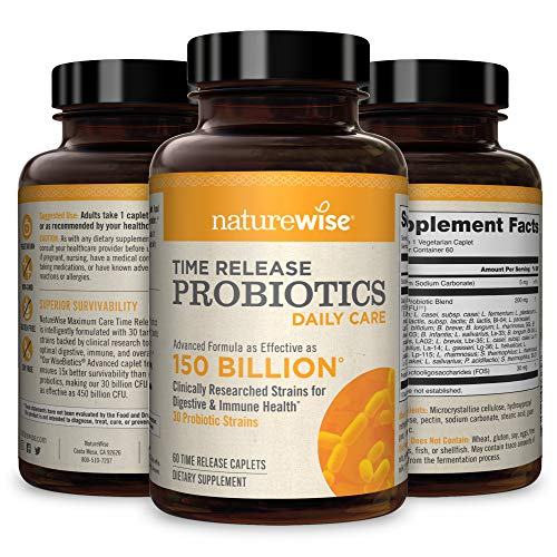 NatureWise Daily Probiotics for