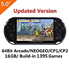 5 Inch LCD Screen 8GB 32Bit Retro Handheld Game Console Built-in 1200+no-repeat Games