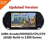 Best Handheld Game Systems - 5 Inch LCD Screen 8GB 32Bit Retro Handheld Review