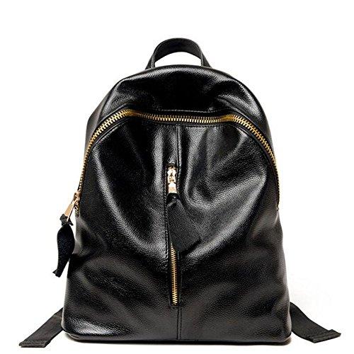 VHVCX Noir cuir dos filles de Femme dos dames Sac pour noir à Mode à Sacs en les à dos Les Filles Sacs D école femmes à dos rftPqxrOw
