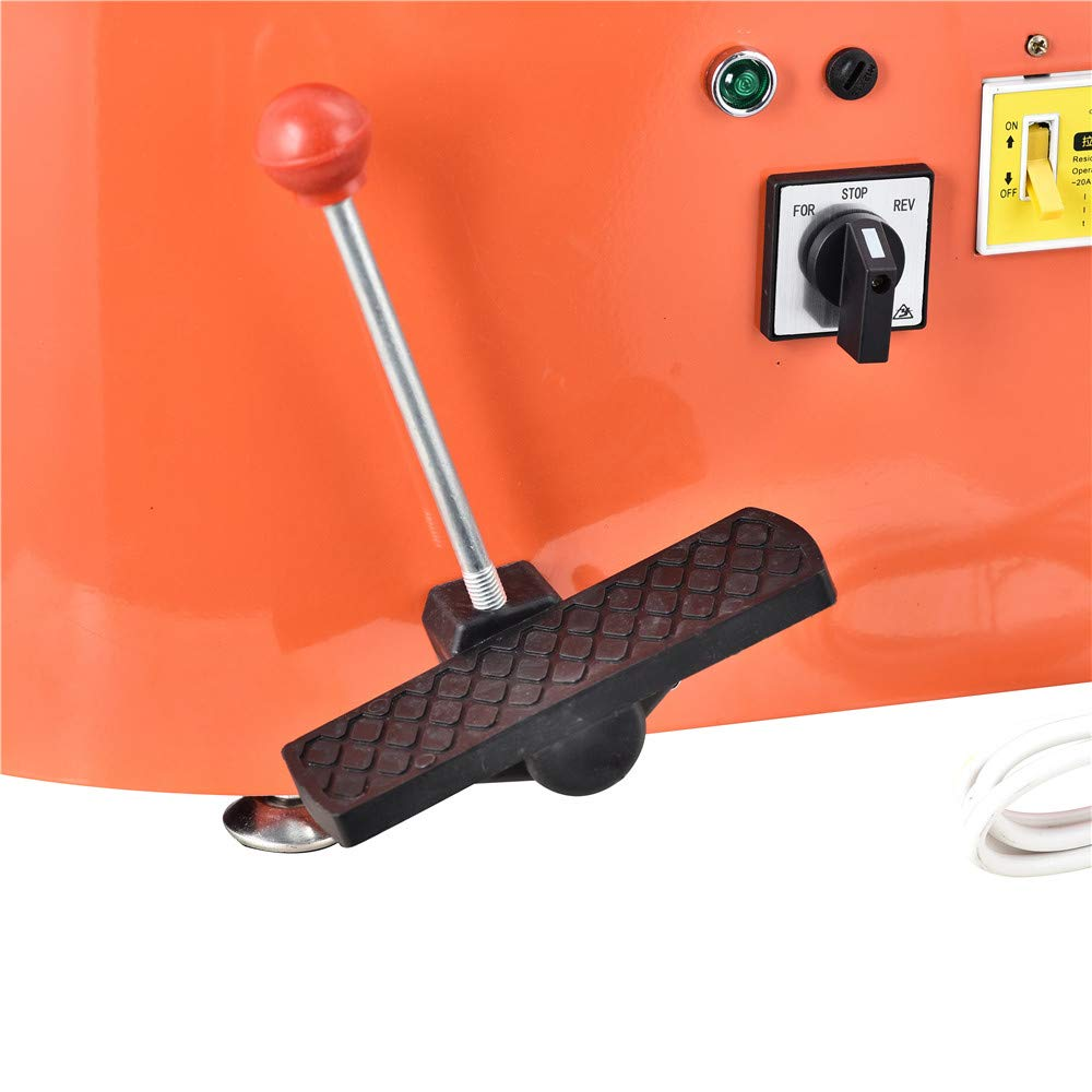 SKYTOU Pottery Wheel Pottery Forming Machine 25CM 350W Electric Pottery Wheel with Foot Pedal DIY Clay Tool Ceramic Machine Work Clay Art Craft