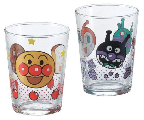 Anpanman glass mini glass 2 pieces 12-451-6