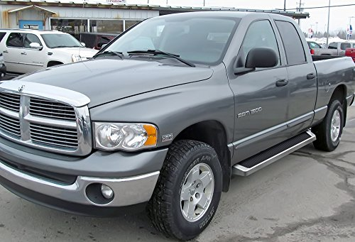 APS iBoard Running Boards Style Custom Fit 2002-2008 Dodge Ram 1500 Quad Cab Pickup 4-Door & 2003-2009 Ram 2500/3500 (Nerf Bars | Side Steps | Side ()