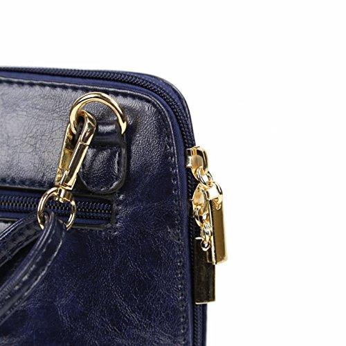 Navy Sling Bag Purse Modern Crossbody Blue Darling's Classic Small Womens wyvpTq7gRf