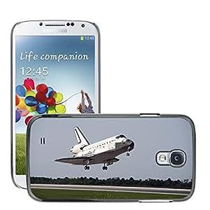 Print Motif Coque de protection Case Cover // M00292908 Aterrizaje del Transbordador Espacial // Samsung Galaxy S4 S IV SIV i9500