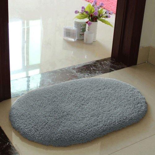 Floor Mat Light Cream (4060cm Multicolor Anti-slip Soft Memory Foam Bath Bathroom Bedroom Room Floor Mat Rug - Light Grey)