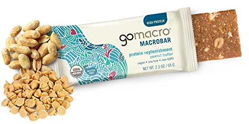 GoMacro Organic Peanut Protein, 2.3-Ounce Bars (Pack of 12)