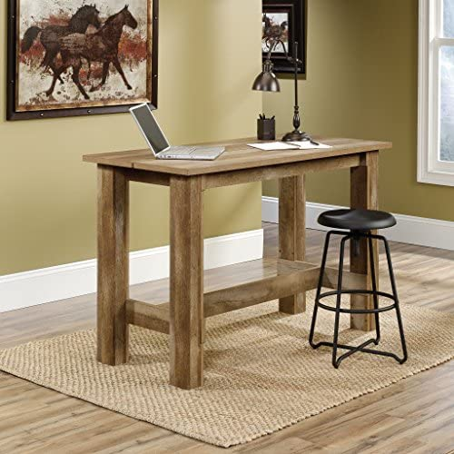 home, kitchen, furniture, kitchen, dining room furniture,  tables 4 picture Sauder Boone Mountain Counter Height Dining Table, Craftsman in USA