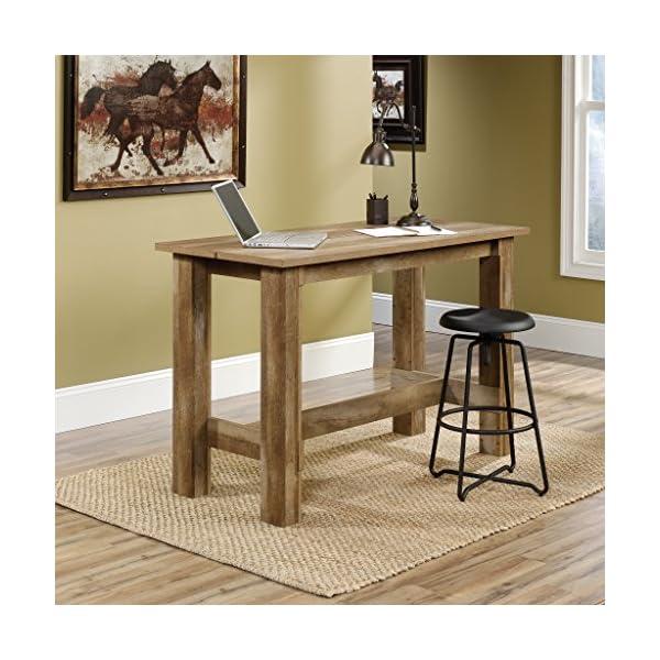 Sauder Boone Mountain Counter Height Dining Table, Craftsman Oak finish