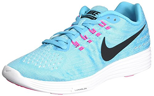 Nike Womens Lunartempo 2 Gamma Blue/Black-White-Pink Blast Ankle-High Fabric Running Shoe – 6.5M Review
