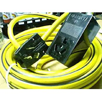 220 Volt 50 Ft 10 3 Extension Cord Amazon Com