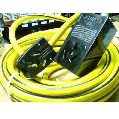 220 Volt 50 ft 103 Extension Cord Amazoncom