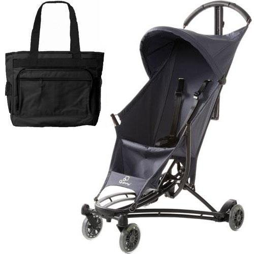 Quinny YEZZ Lightweight Stroller with Diaper Bag - Grey Road