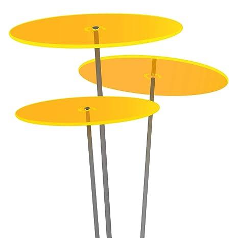 Cazador Del Sol Tres 3 Stück Sonnenfänger Gelb Durchmesser 20