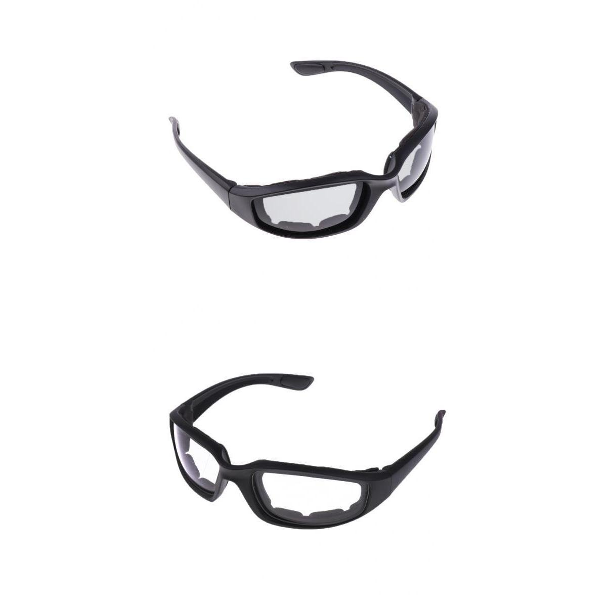 D DOLITY Chopper Wind Resistant//Windproof Pad Sport Sunglasses Motorcycle Riding Glasses