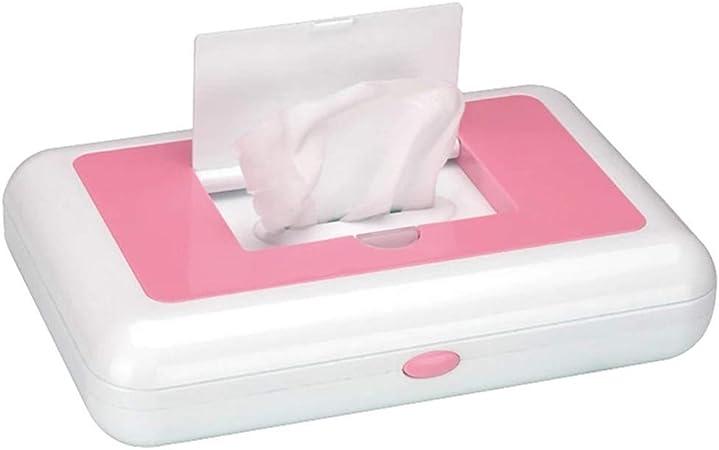 Dispensador de toallitas Estuche para toallitas para bebés, soporte para toallitas para bebés mantiene las toallitas frescas, fácil de abrir y cerrar, contenedor de toallitas, diseño de gran capacid: Amazon.es: Hogar