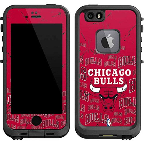 - Skinit Chicago Bulls Blast LifeProof fre iPhone 6/6s Skin for CASE - Officially Licensed NBA Skin for Popular Cases Decal - Ultra Thin, Lightweight Vinyl Decal Protection