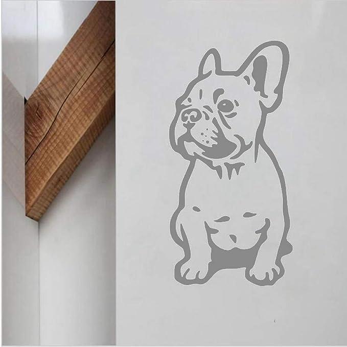 yiyiyaya Bulldog francés Vinilo Adhesivo de Pared Lovely Dog ...