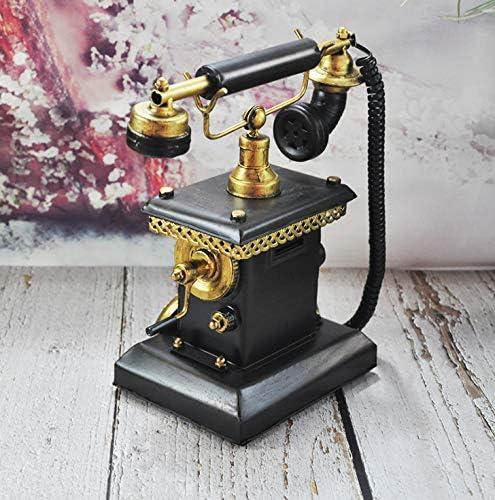 Living Room Cafe Decoration YANGLILI Phone Decorative Home Decoration Props Decoration Creative Retro Phone Model Nostalgic Phone Decoration