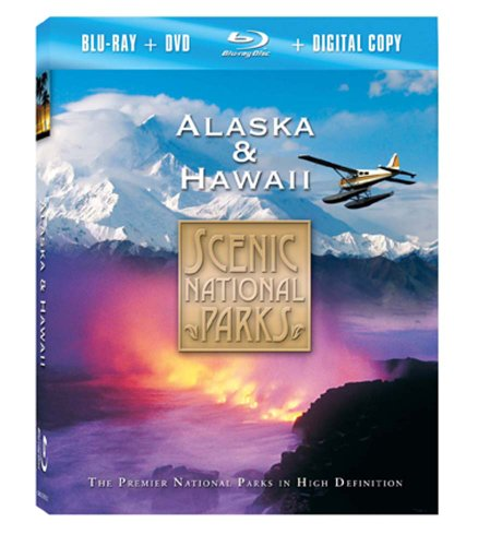 Scenic National Parks: Alaska & Hawaii (Blu-ray Combo Pack) (Scenic Combo)