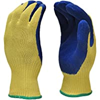 G & F Products G & F 1607XL Cut Resistant Work Gloves, 100-Percent Kevlar Knit Work Gloves, Make by DuPont Kevlar, Protective Gloves to Secure Your hands from Scrapes, Cuts in Kitchen, Wood Carving, Carpentry and De, X-Large