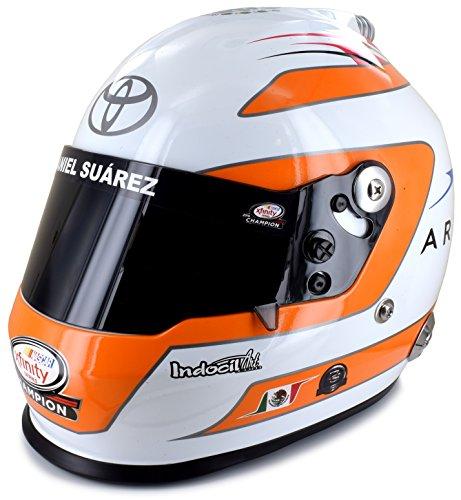 Daniel Suarez 2021 Xfinity Series Champion Arris Full Size Collectible NASCAR Replica Helmet