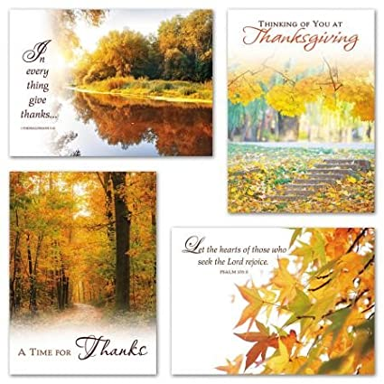 Amazon epressions of faith greeting cards set of 8 epressions of faith greeting cards set of 8 thanksgiving cards 5quot m4hsunfo