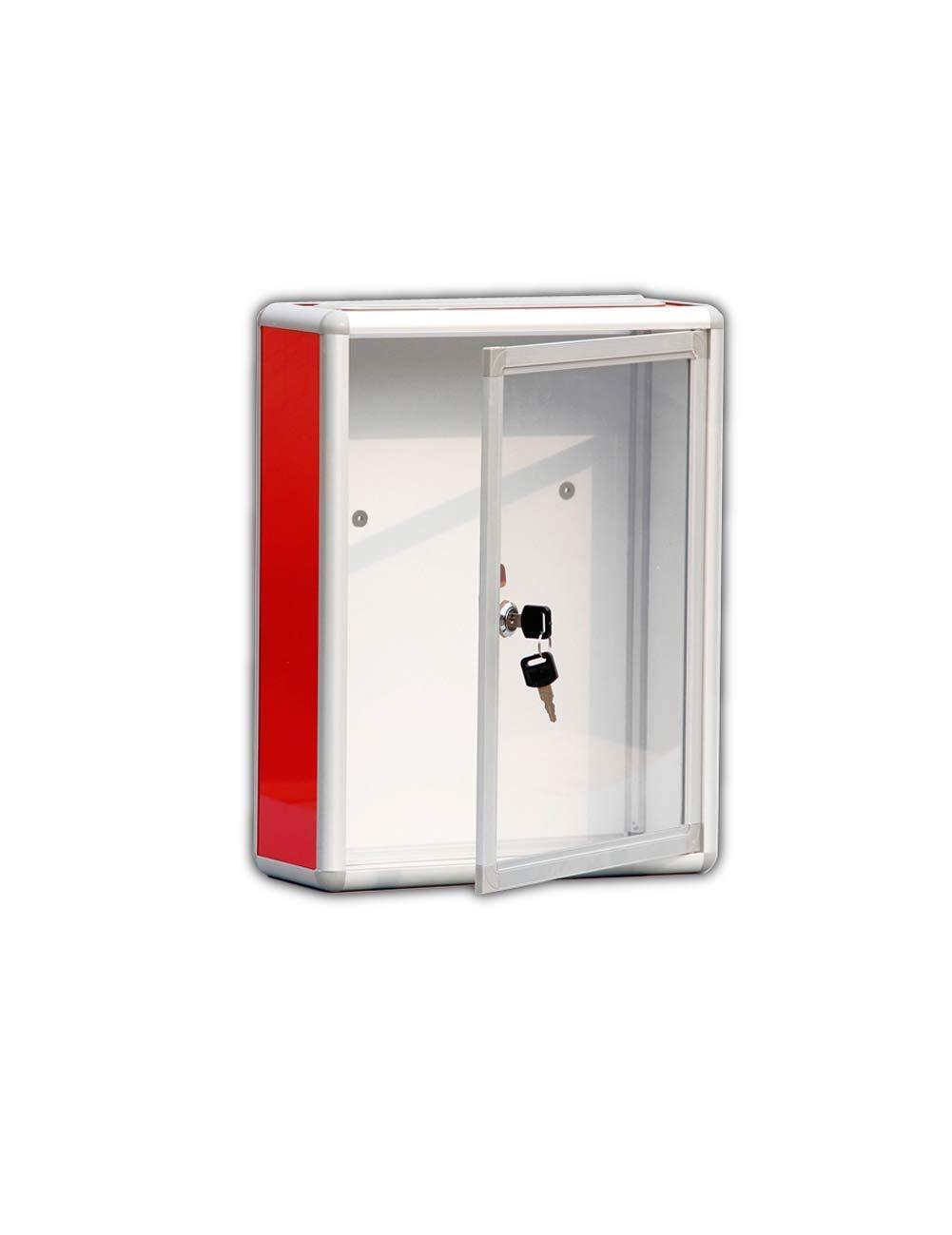 TYUIO 大型キードロップボックス - 大容量商業用グレード収納ボックス - 安全で安全な小包&パッケージ - 家庭用/ビジネス用(ホワイト)   B07TK6FDFG