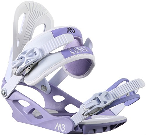 M3 Luna 4 Snowboard Bindings Womens Sz (Luna Snowboard)