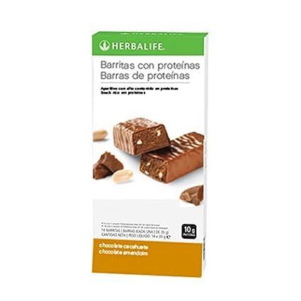Barritas con proteinas (Vainilla y almendras)