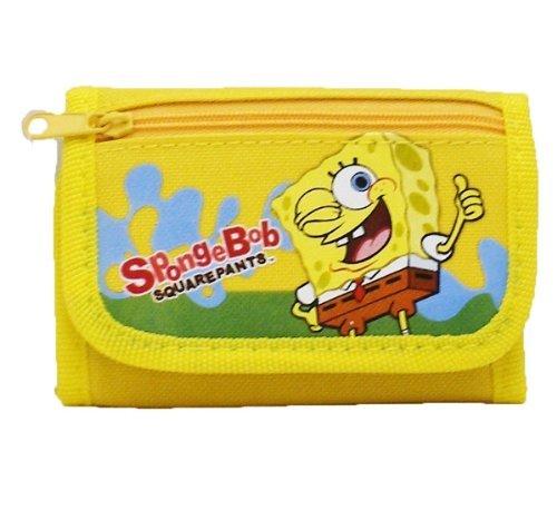 Spongebob Tri-fold Wallet - Yellow