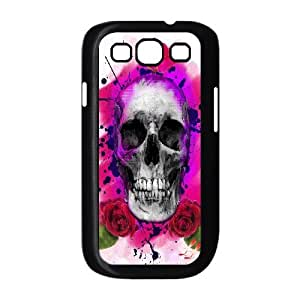 Sugar Skull Productive Back Phone Case For Samsung Galaxy S3 -Pattern-7
